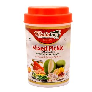 Mixed Pickle in Mustard Oil 1.Kg
